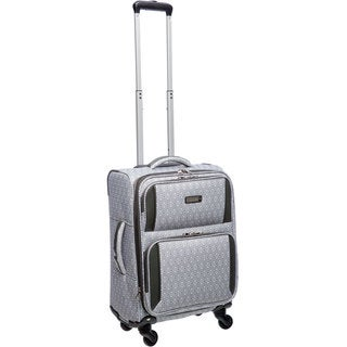 Nine West Aleigh 19-inch Expandable Carry On Spinner Upright Suitcase