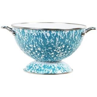 Reston Lloyd Calypso Basics Turquoise Marble Colander (3 quart)