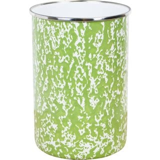 Reston Lloyd Calypso Basics Lime Marble Enamel Utensil Holder