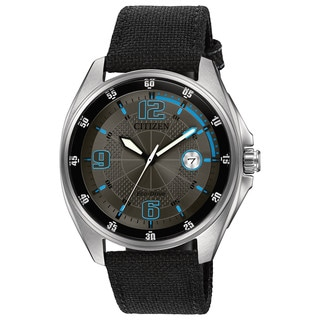 Citizen Men's AW1510-03H Drive - WDR Collection Blue and Grey Stainless Steel and Nylon Watch