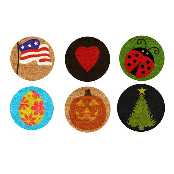 Set of 6 Holiday/Seasonal Inserts