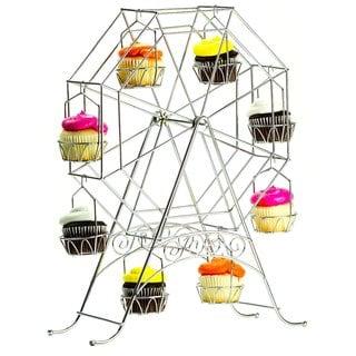 Rotating Ferris Wheel Cupcake Stand