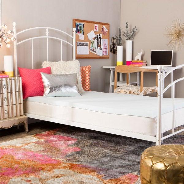 Splendorest 2-inch Serene Foam Back-to-School Dorm Mattress Topper