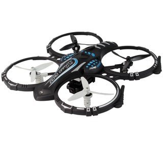 X2 HD Remote Controlled Black Quadcopter Drone with 720p HD Camera, Hovering and 360-degree Flip Functions