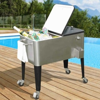 Sunjoy Plato 80-quart Cooler