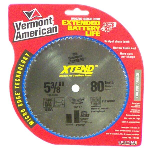 Vermont American 26127 XTEND Carbide Circular Saw Blades