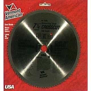 Vermont American 25290 Krome King Crosscut Circular Saw Blades
