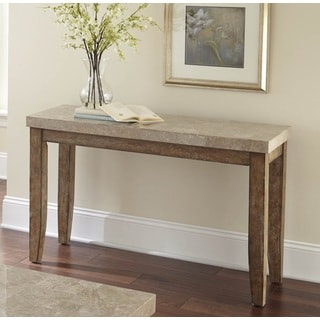 Greyson Living Fulham Marble Top Sofa Table