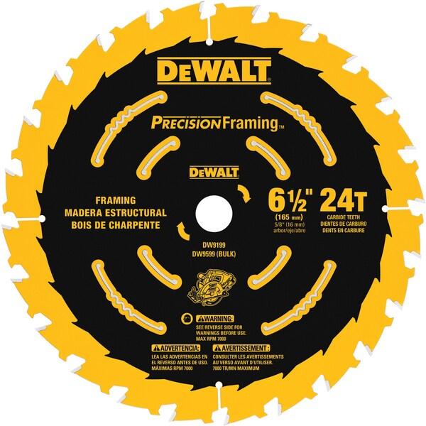 """DeWalt DW9199 6.5"""" Saw Blade"""