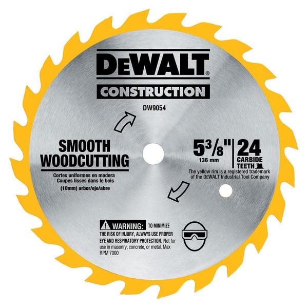 """Dewalt DW9054 5-3/8"""" Cordless Circular Saw Blade"""