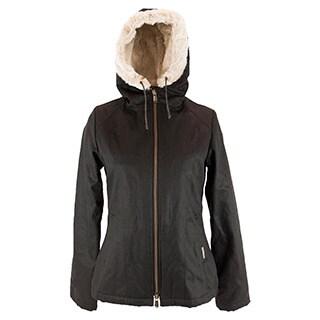 Ladies' Classic HoodLamb Coat