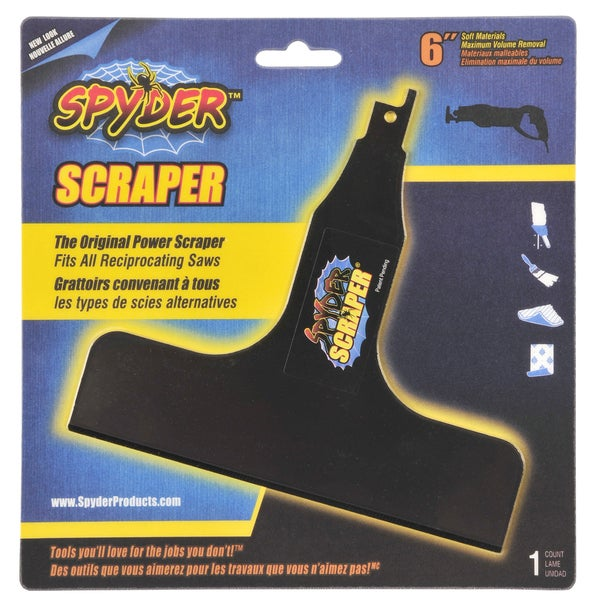 "Spyder 00137 6"" Scraper Reciprocating Blade"
