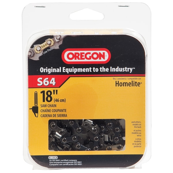 "Oregon S64 18"" Semi Chisel Cutting Chain"