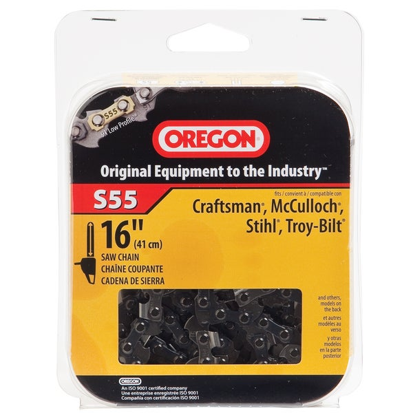 Oregon S55 Semi Chisel Cutting Chain