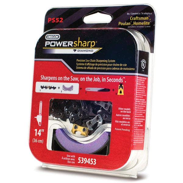 "Oregon PS52 14"" PowerSharp PS52 Replacement Saw Chain"