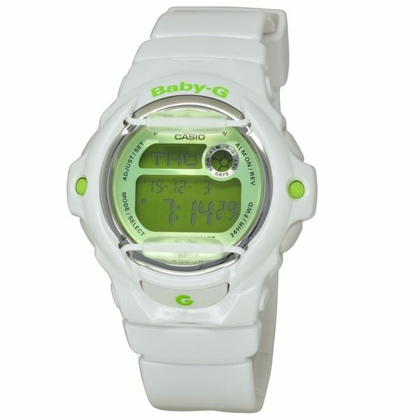 Casio Women's BG169R-7C Baby-G Green Watch