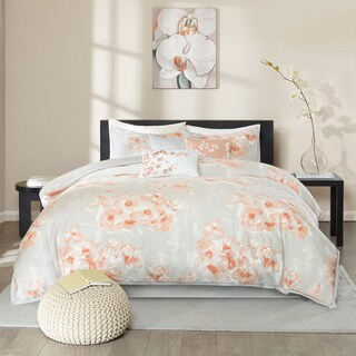 Madison Park Adriana Cotton 6-piece Duvet Cover Set