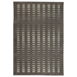 M.A.Trading Hand-Knotted Indo Merano Grey Rug (8'3 x 11'6)
