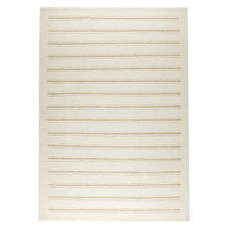 M.A.Trading Hand-Knotted Indo Chicago White Rug (9'x12')