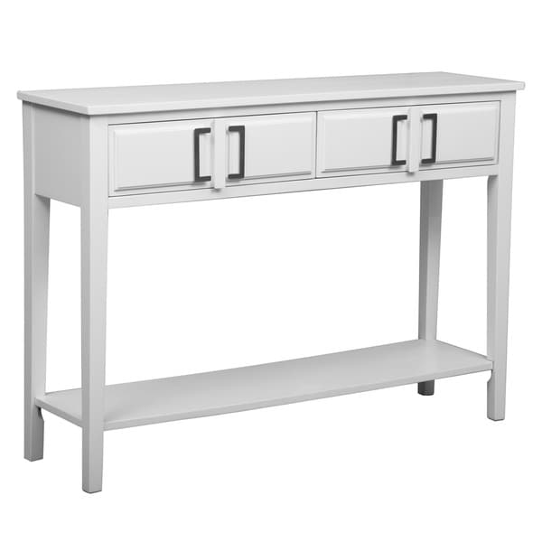 White Simple Console Table