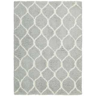 Nourison Galway Mint Shag Area Rug (5' x 7')
