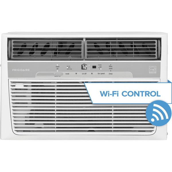 Frigidaire FFRC0833R1 Cool Connect 8,000 BTU 115V Window-Mounted Air Conditioner with Wi-Fi Control