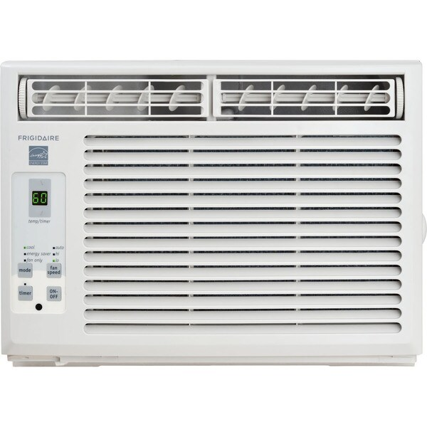 Frigidaire White FFRE0533S1 5,000 BTU 115V Window-Mounted Mini-Compact Air Conditioner with Full-Function Remote... (As Is Item) 30000780