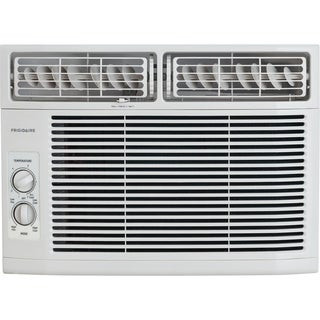 Frigidaire White FFRA1211R1 12,000 BTU 115V Window-Mounted Mini-Compact Air Conditioner with Mechanical Controls