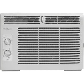 Frigidaire White FFRA0511R1 5,000 BTU 115V Window-Mounted Mini-Compact Air Conditioner with Mechanical Controls