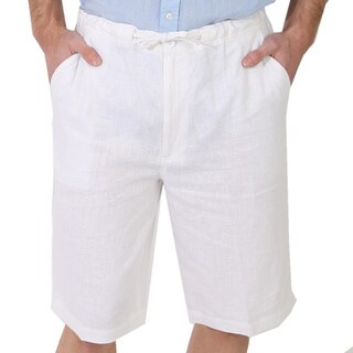 Men's Drawstring Linen Short