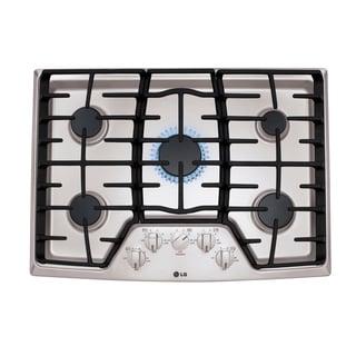 30 Inch 5 Sealed Burner Gas Cooktop