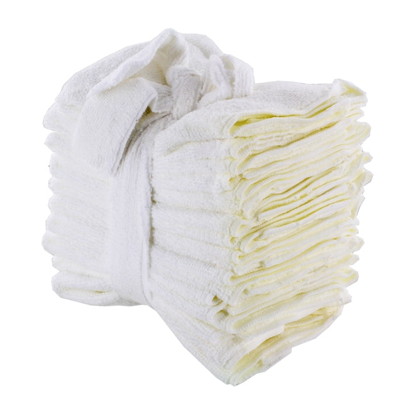 Turtle Wax White Microfiber Cleaning Cloth Towels (Set of 10)