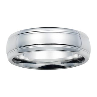 Boston Bay Diamonds 7mm Colbolt Chrome Band