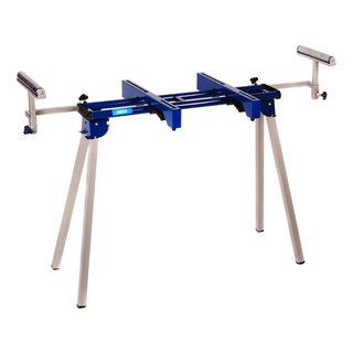 Hico Uwc1201a Folding Miter Saw Stand with Machine Mounts and Material Roller Supports