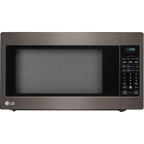 LG 2-cubic-foot Stainless Steel True Cook Plus Countertop Microwave ...