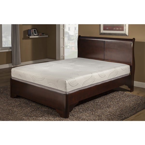 Luxury Temperature Balance 12-inch Cal-King-size Gel Memory Foam Mattress