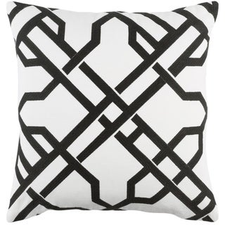 Decorative 18-inch Balmy Down or Polyester Filled Throw Pillow