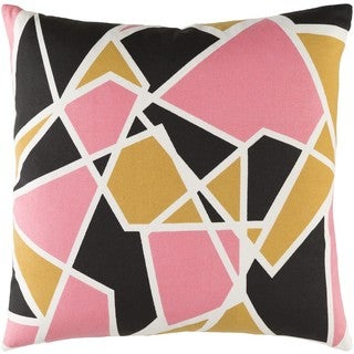 Decorative 18-inch Chang Down or Polyester Filled Throw Pillow