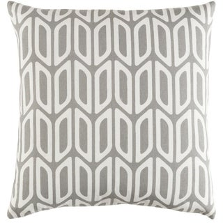 Decorative 18-inch Chowk Down or Polyester Filled Throw Pillow
