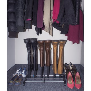 Sorbus Three Pair Boot Rack Organizer