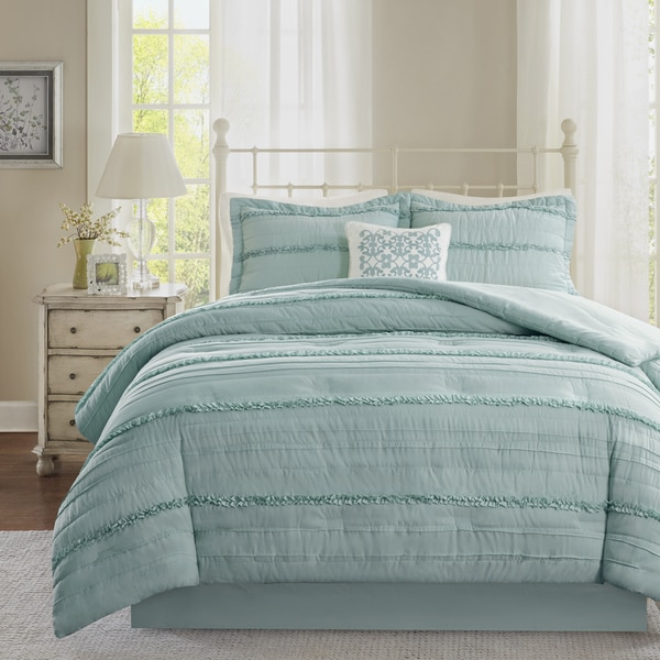 Madison Park Isabella Blue Comforter Set