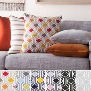Decorative 18-inch Azusa Throw Pillow Shell