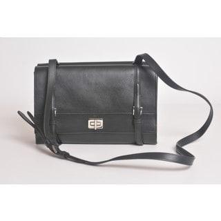 Prada BT0993 Lux Calf Flap Bag