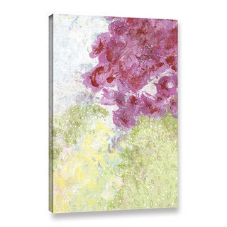 Sarah Ogren's 'Floral Abstract' Gallery Wrapped Canvas