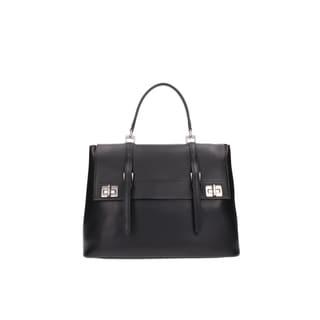Prada Black Saffiano Leather BN2790 Satchel