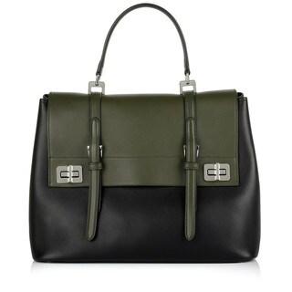 Prada 'Nero Militare' Saffiano Leather BN2789 Satchel