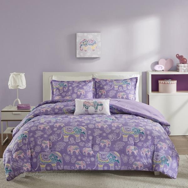 Mi Zone Abby Purple Comforter Set