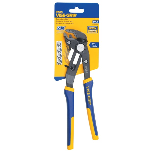 "Irwin 4935096 10"" Vise-Grip GrooveLock Pliers"