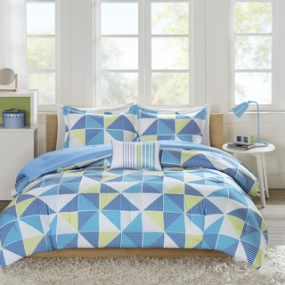 Mi Zone Jackie Blue Comforter Set