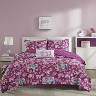 Mi Zone Abby Berry Coverlet Set